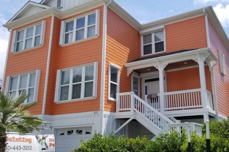 Nandos Project Exterior House Painting Wilmington