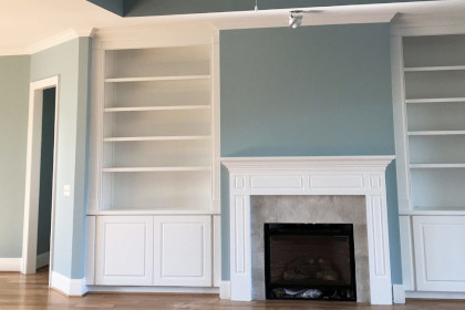 Nandos project Interior House Painting Wilmington NC